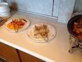 朝食バイキング フルーツ卵焼きコーナー