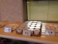 朝食バイキング 納豆生卵コーナー