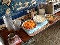 朝食バイキングフルーツヨーグルトコーナー