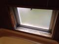 部屋の風呂の窓