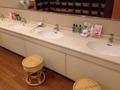 脱衣所の洗面スペース