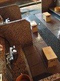 仙人の湯洗い場