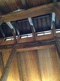 仙人の湯天井