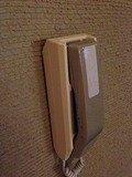 廊下の内線電話