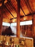 木響の湯 内湯の高い天井
