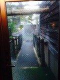 木響の湯露天風呂へのドア