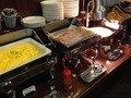 朝食バイキング総菜コーナー