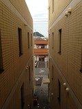 渡り廊下からの眺め