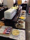 朝食バイキングメイン総菜コーナー