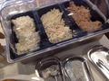 朝食バイキングポテトサラダマカロニサラダツナサラダコーナー