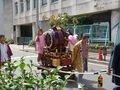 錦糸町駅近く 祭り太鼓