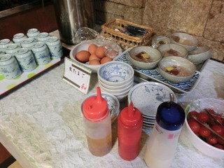 朝食バイキング その7 (最後)