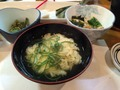 夕食 卵スープ