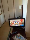 小柄なテレビ