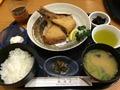 鮪竜田揚げ定食