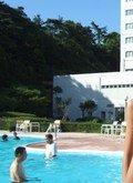 ホテルのレジャープールです。