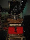 犬山の観光通りにあるどんでん館の山車です。