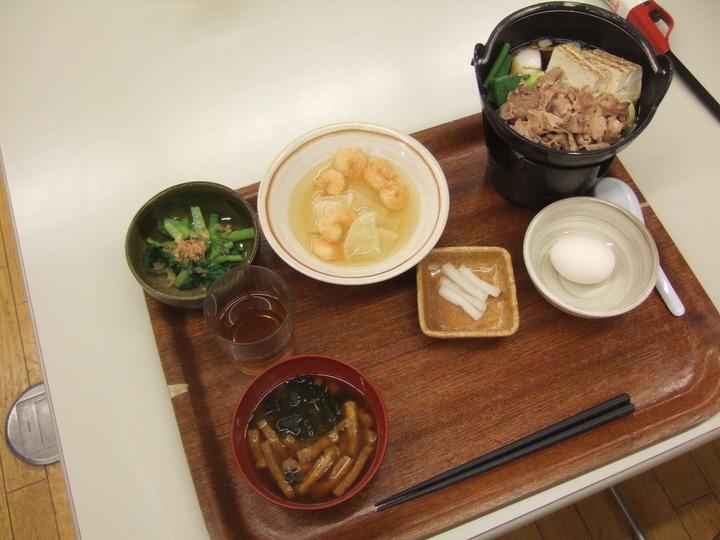この日の夕食です。