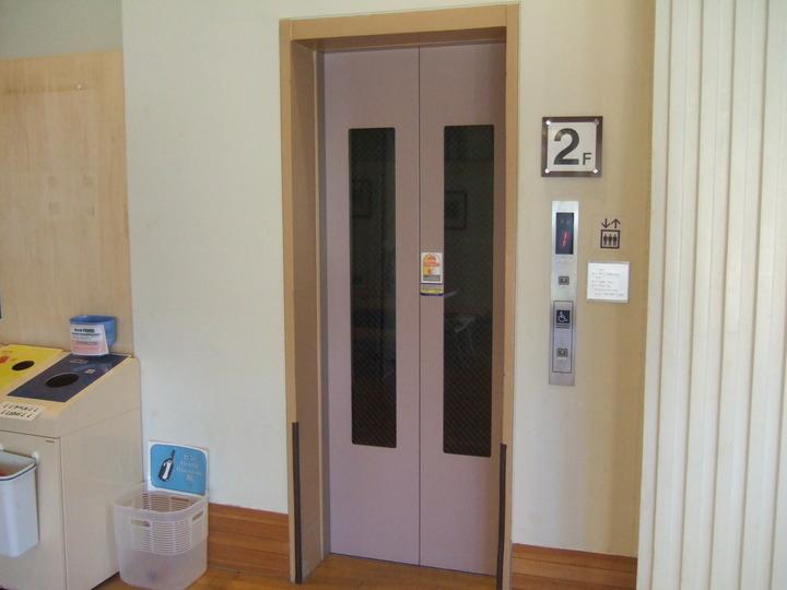 エレベーターもちゃんとありました。