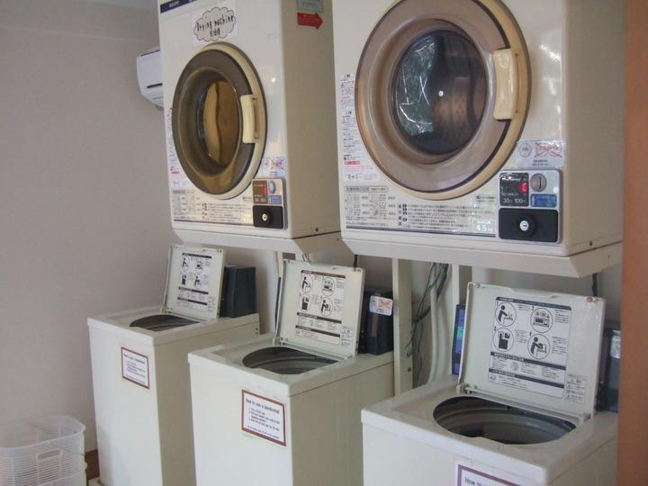 洗濯機と乾燥機もちゃんとあります。