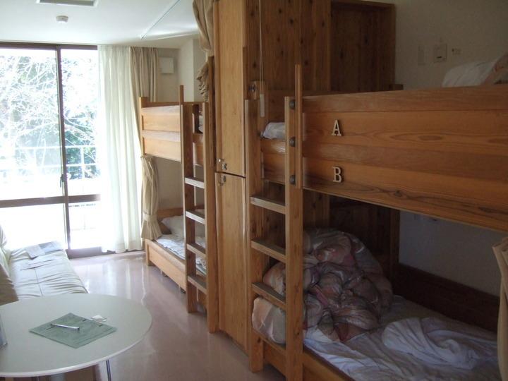 2段ベッドの部屋です。