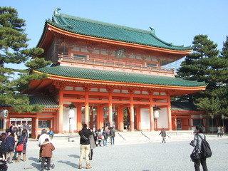 平安神宮です。