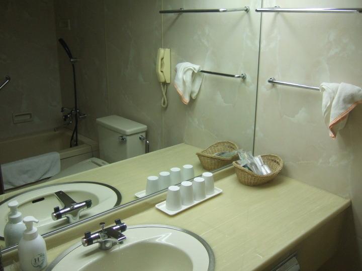 客室の洗面台です。