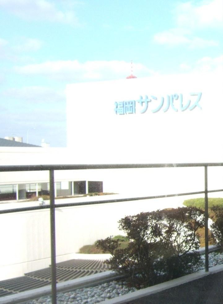 博多の大型コンサートホールに併設されたシティホテル