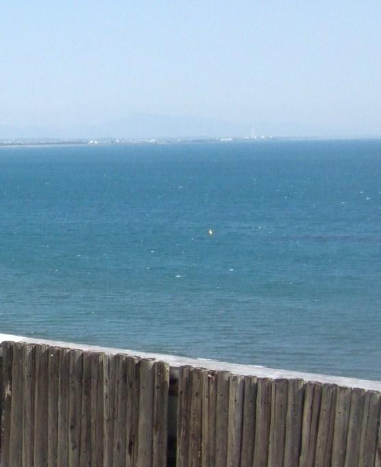 屋上の展望露天風呂から見る太平洋は素晴らしかったです。