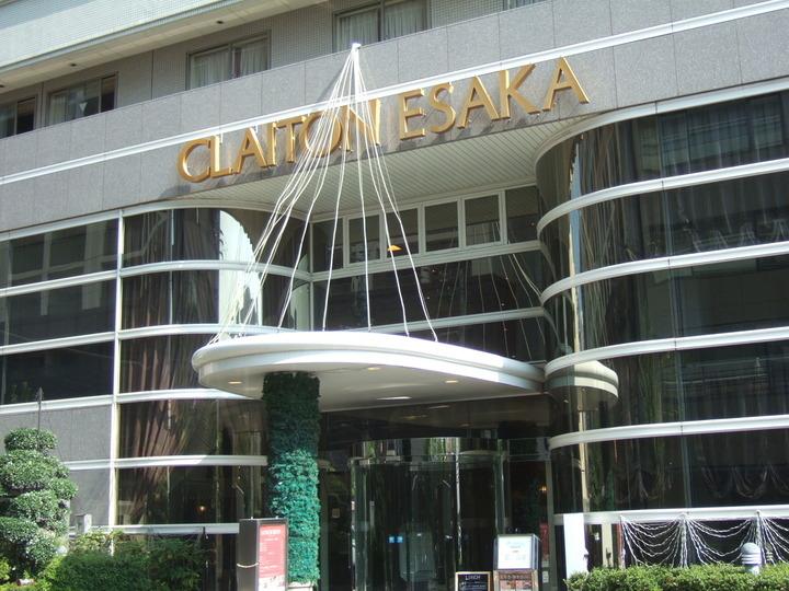 光明石天然鉱石温泉の大浴場がある江坂駅の近くのホテル