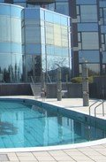 洲本の五色町の高台に立つゴルフ場併設の洒落た大型ホテル