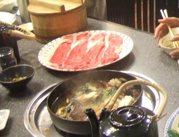松坂ですき焼きの食べられる旅館