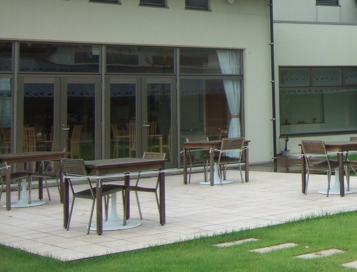 能美市に新たにオープンした田園の中の宿泊・研修施設