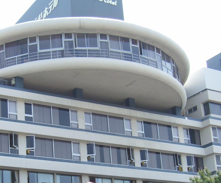 萩市の中心部に位置する規模の大きい観光ホテル
