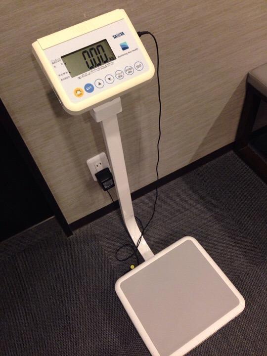 モノリスタワーすみの湯体重計