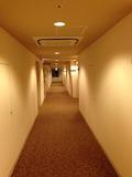 モノリスタワー客室フロア廊下