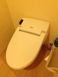 モノリスタワー客室のトイレ