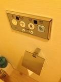 モノリスタワー客室のトイレリモコン