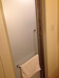 モノリスタワー客室のシャワールーム入口