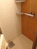 モノリスタワー客室のシャワールーム内部
