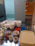 モノリスタワー夕食バイキング 麺類コーナー