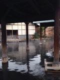 江戸情話夜市 朝の大露天風呂