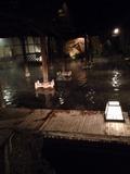 江戸情話夜市 夜の露天風呂