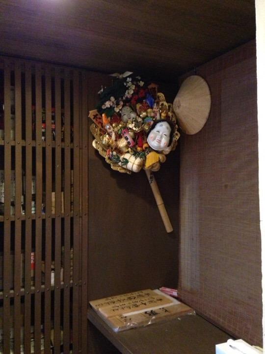 江戸情話夜市 飾りの熊手