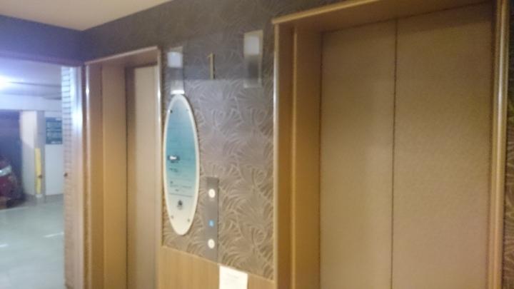 アパホテル高崎駅前のエレベーター