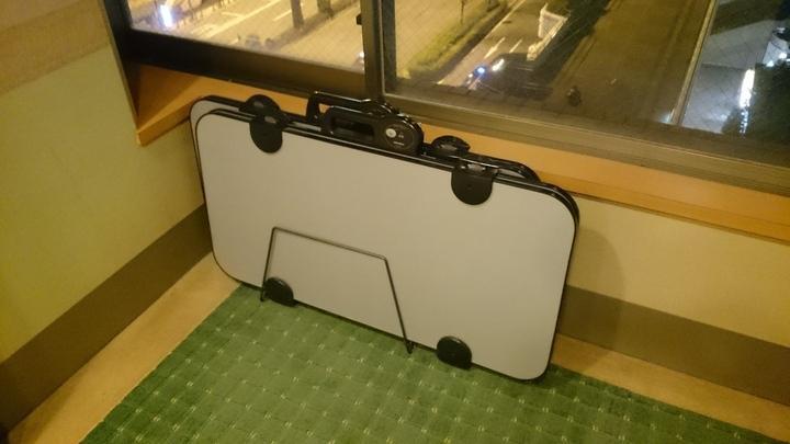 アパホテル高崎駅前の各階にある共用スボンプレッサー