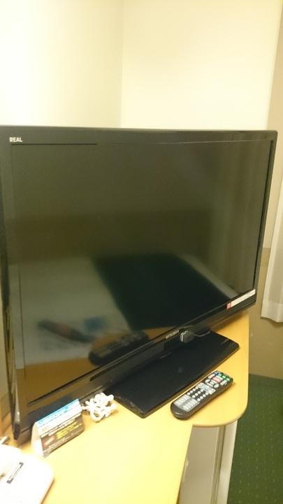 アパホテル高崎駅前のテレビ