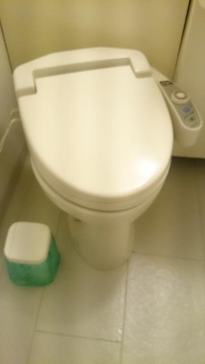 アパホテル高崎駅前のトイレ