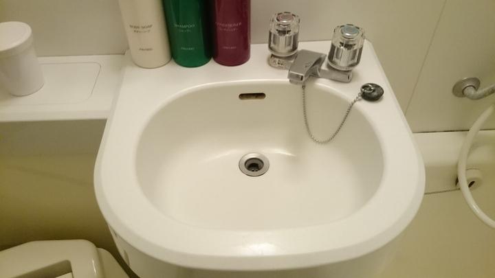 アパホテル高崎駅前の洗面台