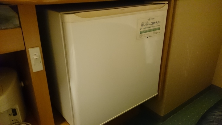 アパホテル高崎駅前の冷蔵庫